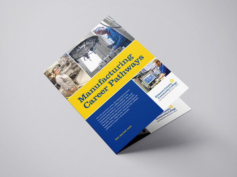 advertising - Manufacturing Career Pathways Brochure