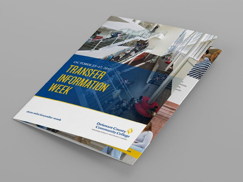advertising - DCCC Transfer Week Brochure