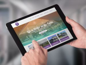 web design - Landhope Farms