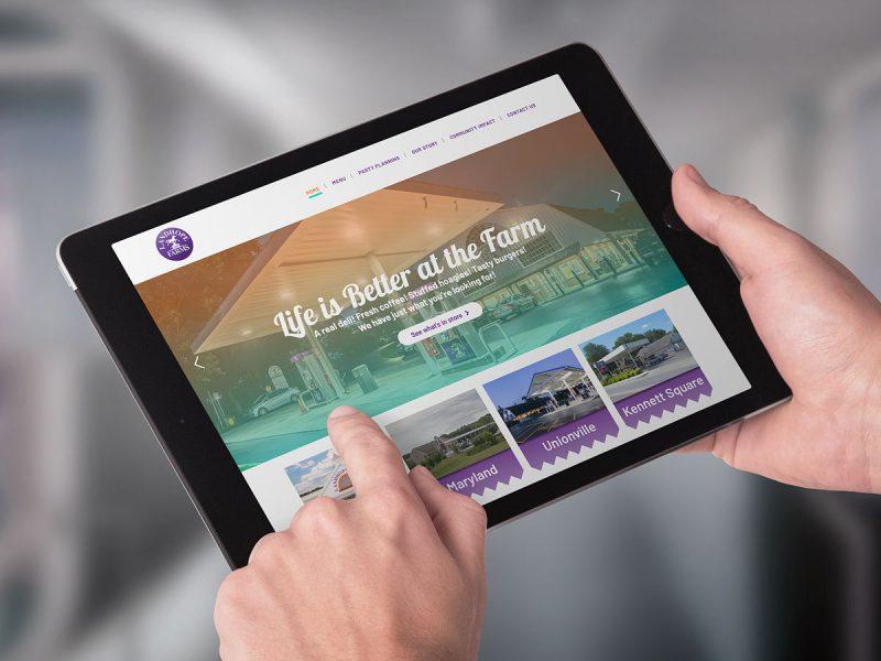Landhope Farms website