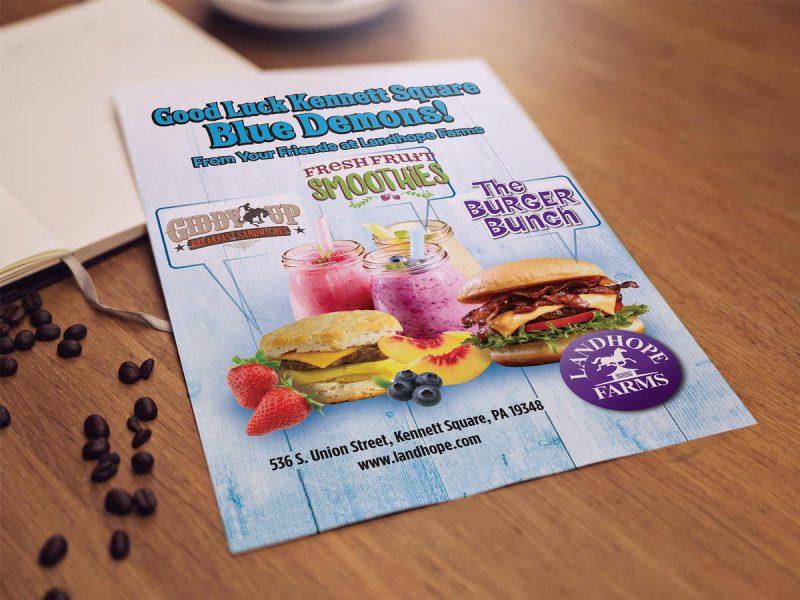 Landhope Farms Print Ad