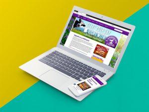 web design - Landhope Farms Website