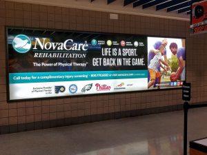 advertising - NovaCare Concourse Sign