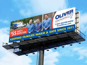 advertising - Oliver Billboard Design