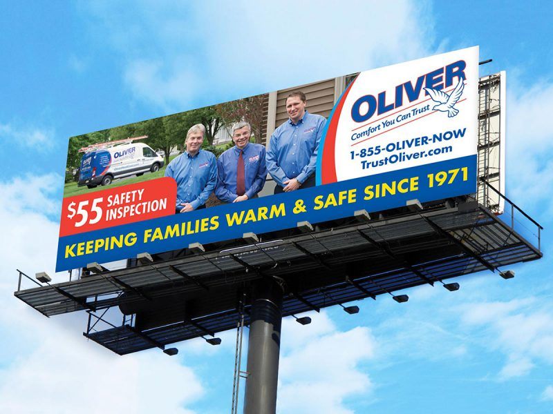 Oliver Billboard Design