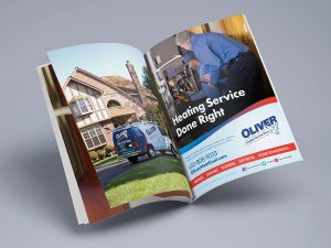 advertising - Oliver Print Ad