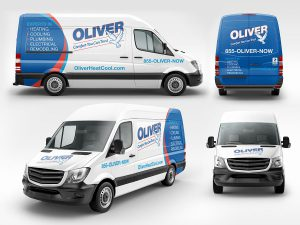 advertising - Oliver Vehicle Graphics