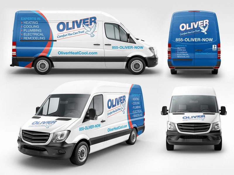 Oliver Vehicle Graphics