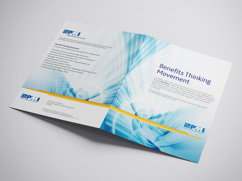 graphic design - PMI Brochure