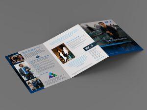 graphic design - PMI Certification Brochure