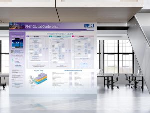 advertising - Conference Wayfinding Map
