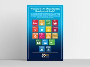 graphic design - PMI Sustainable Goals Poster