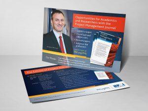 graphic design - PMI PMJ Postcard