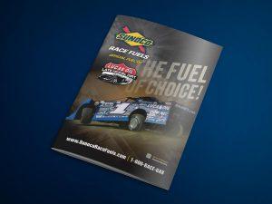 graphic design - Sunoco Race Fuels Ad
