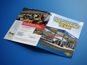graphic design - Sunoco Advantage Distributor Brochure