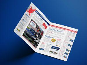 graphic design - Sunoco Advantage Distributor Brochure