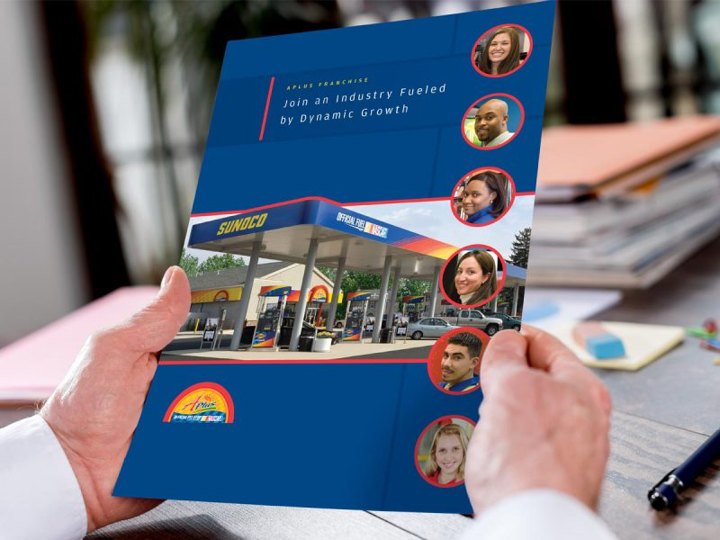 advertising - Sunoco APlus Franchise Brochure