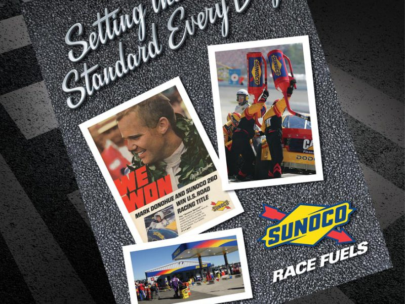 advertising - Sunoco Racefuels Brochure Cover