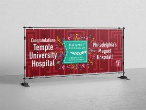 banner design - Temple Hospital Banner