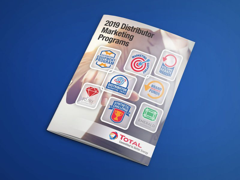 graphic design - Total Distributor Programs Cover