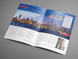 graphic design - Total Distributor Programs Spread