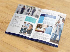 graphic design - Jefferson Benefits Guidebook Spread
