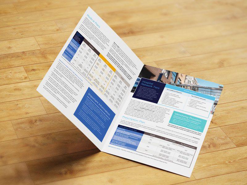 graphic design - Jefferson What's New Brochure Interior