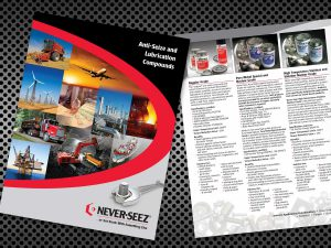 graphic design - Bostik NeverSeez Brochure