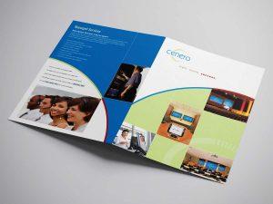 graphic design - Cenero Brochure Cover
