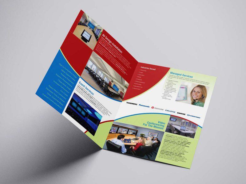 graphic design - Cenero Brochure Spread