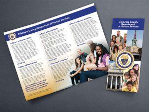 graphic design - DCHS Brochure