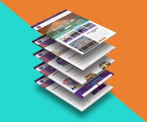 web design - Landhope Farms Website mockup