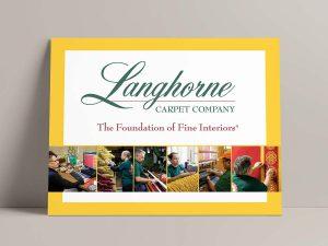 Advertising - Langhorne Carpet Sign