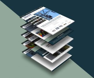 web design - QualTek Services Website mockup