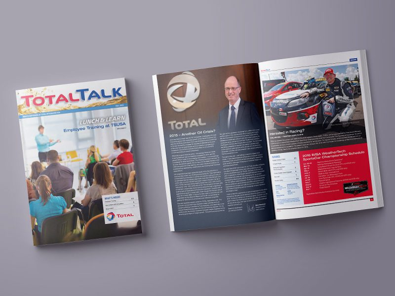 graphic design - Total Talk Newsletter