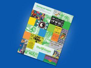 graphic design - Village Annual Report Cover