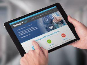 web design - AimcorEIG Website