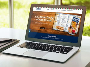 web design - Liscio's Italian Bakery Website