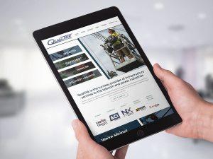 web design - QualTek Services Website