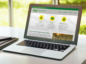 web design - Simon Miller Paper Website