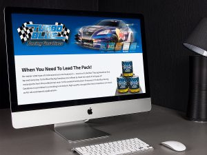 web design - Turbo Blue Racing Gasoline Website