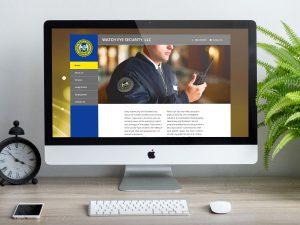 web design - Watch Eye Security Website