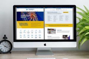 web design - J.F. Terry Associates website