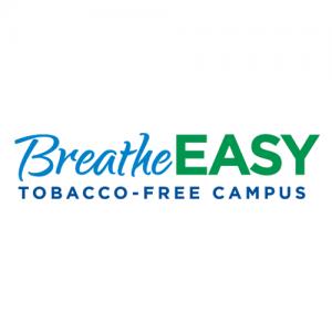 brand identity - BreatheEASY Tobacco-Free Campus logo
