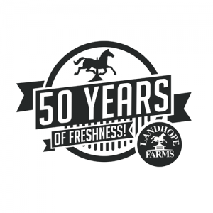 brand identity - Landhope Farms 50th logo
