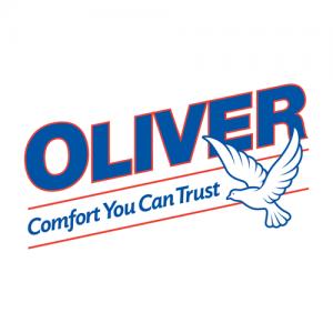 brand identity - Oliver HVAC logo
